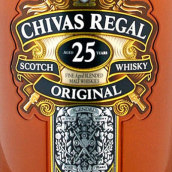 芝华士原产25年苏格兰调和威士忌(Chivas Regal Original Aged 25 Years Blended Scotch Whisky,...)