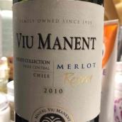 Viu Manent Estate Collection Merlot Reserve,Valle Central,...