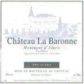 Chateau La Baronne Corbieres 'Montagne d'Alaric' Gris de ...