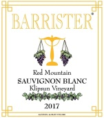 律师克里普森园长相思干白葡萄酒(Barrister Winery Klipsun Vineyard Sauvignon Blanc,Red ...)