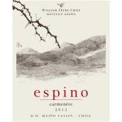 埃斯皮诺佳美娜干红葡萄酒(Espino Carmenere,Maipo Valley,Chile)