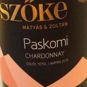 索克马加什霞多丽干白葡萄酒(Szoke Matyas Chardonnay,Matraalja,Hungary)