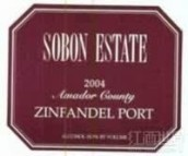 颂博仙粉黛波特酒(Sobon Estate Zinfandel Port,Amador County,USA)