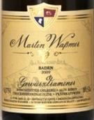 马丁沃斯曼酒庄琼瑶浆老藤枯萄葡萄干精选甜白葡萄酒(Weingut Martin Wassmer Ehrenstetter Olberg Alte Reben ...)