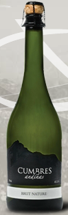 特级酒庄安第斯山峰自然干型起泡酒(Premier Wines Cumbres Andinas Brut Nature,Mendoza,Argentina)