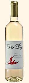 河石灰皮诺干白葡萄酒(River Stone Estate Winery Pinot Grisi,Okanagan,Canada)