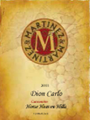 马丁尼卡罗佳美娜干红葡萄酒(Martinez&Martinez Winery Dion Carlo Carmenere,Washington,USA)