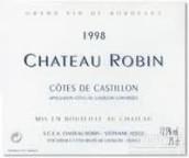 罗宾酒庄干红葡萄酒(Chateau Robin, Cotes de Castillon, France)