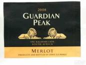 狮王之巅梅洛干红葡萄酒(Guardian Peak Merlot,Stellenbosch,South Africa)