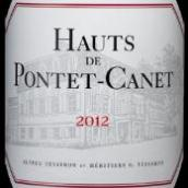 庞特卡奈古堡副牌红葡萄酒(Les Hauts de Pontet-Canet,Pauillac,France)