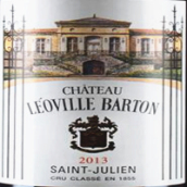 巴顿城堡红葡萄酒(Chateau Leoville Barton,Saint-Julien,France)