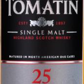 汤玛丁25年苏格兰单一麦芽威士忌(Tomatin 25 Year Single Malt Scotch Whisky,Highlands,UK)