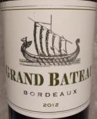 小龙船干白葡萄酒(Grand Bateau Blanc,Bordeaux,France)