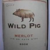 加百利美福野猪梅洛干红葡萄酒(Gabriel Meffre Wild Pig Merlot,Rhone,France)