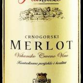 普兰达莎梅洛干红葡萄酒(Plantaze Merlot,Cemovsko,Montenegro)