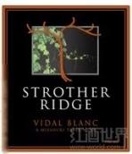 斯特赫斯酒庄斯特罗瑟威代尔干白葡萄酒(Stonehaus Farms Vineyard&Winery Strother Ridge Vidal Blanc,...)