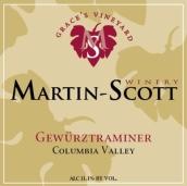 马丁斯科特格蕾丝园琼瑶浆干白葡萄酒(Martin Scott Graces Vineyard Gewurztraminer, Columbia Valley, USA)
