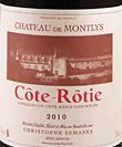 梦丽酒庄干红葡萄酒(Christophe Semaska Chateau de Montlys, Cote-Rotie, France)