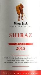 杰克王经典系列西拉干红葡萄酒(螺旋盖)(King Jack Shiraz, Adelaide Hills, Australia (Screw Cap))