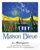 "蓝色""小山""阿尔德里奇园歌海娜干红葡萄酒(Maison Bleue La Montagnette Alder Ridge Vineyard Grenache, Horse Heaven Hills, USA)"