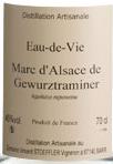 施特夫勒生命之水迈琼瑶浆白葡萄酒(Domaine Stoeffler Eaux-De-Vie Marc de Gewurztraminer,Alsace,...)
