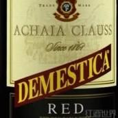雅克劳斯酒庄黛美斯蒂卡干红葡萄酒(Achaia Clauss Demestica Red,Peloponnese,Greece)