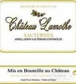 拉莫特皮约尔酒庄贵腐甜白葡萄酒(Chateau Lamothe Despujols,Sauternes,France)