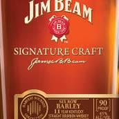 占边标志性精酿11年六棱大麦肯塔基纯波本威士忌(Jim Beam Signature Craft 11 Year Six Row Barley Kentucky ...)