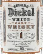 乔治迪科尔1号基础配方白色玉米威士忌(George Dickel No.1 Foundation Recipe White Corn Whisky,...)