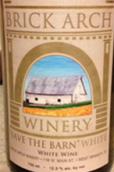 拱门节仓白葡萄酒(Brick Arch Winery Save the Barn White,Iowa,USA)