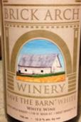 拱门节仓白葡萄酒(Brick Arch Winery Save the Barn White, Iowa, USA)