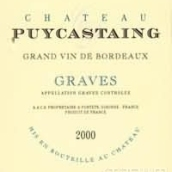 普卡丹尼城堡干红葡萄酒(Chateau Puycastaing,Graves,France)