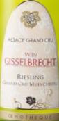 威利·布哈奇酒庄雷司令明希贝格干白葡萄酒(Willy Gisselbrecht Riesling Muenchberg,Alsace Grand Cru,...)