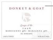 驴子与山羊金杯干红葡萄酒(A Donkey and Goat Coupe d'Or, El Dorado, USA)