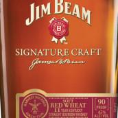 占边标志性精酿11年软质红小麦肯塔基纯波本威士忌(Jim Beam Signature Craft 11 Year Soft Red Wheat Kentucky ...)