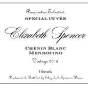 伊丽莎白·斯宾塞酒庄特殊混酿系列白诗南干白葡萄酒(Elizabeth Spencer Special Cuvee Chenin Blanc,Mendocino,USA)