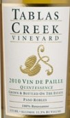 塔湾派乐国粹甜白葡萄酒(Tablas Creek Esprit Vin de Paille Quintessence,Paso Robles,...)