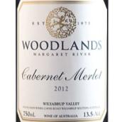 伍德兰斯赤霞珠梅洛混酿干红葡萄酒(Woodlands Cabernet Merlot,Margaret River,Australia)