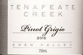 腾纳菲特溪灰皮诺干白葡萄酒(Tenafeate Creek Pinot Grigio,Eden Valley,Australia)