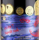 三联甲墨赢西拉干红葡萄酒(III Associates Giant Squid Ink Shiraz,McLaren Vale,Australia)