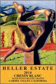 海勒酒庄白诗南半干型白葡萄酒(Heller Estate Chenin Blanc,Carmel Valley,USA)