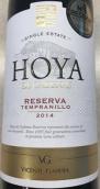 文森特·甘迪亚奥亚卡德纳斯丹魄珍藏干红葡萄酒(Vicente Gandia Hoya de Cadenas Reserva Tempranillo, Utiel-Requena, Spain)