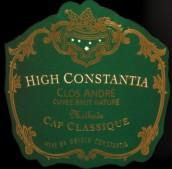高康斯坦提亚克劳斯安德烈霞多丽-黑皮诺起泡酒(High Constantia Clos Andre Chardonnay-Pinot Noir,Constantia,...)