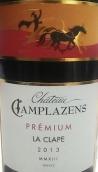 赞马庄园特选克拉普干红葡萄酒(Chateau Camplazens Premium La Clape,Languedoc-Roussillon,...)