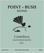 布希角长相思干白葡萄酒(Point Bush Estate Sauvignon Blanc,Waimate,New Zealand)