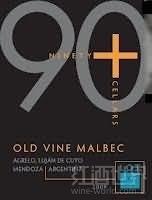 90布拉斯22号老藤马尔贝克干红葡萄酒(90+Ninety Plus Cellars Lot 23 Old Vine Malbec,Mendoza,...)