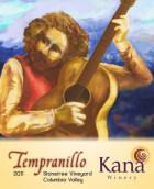 卡纳酒庄丹魄干红葡萄酒(Kana Winery Tempranillo,Columbia Valley,USA)