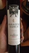天堂牧场梅洛冰酒(Paradise Ranch Merlot Icewine,Okanagan Valley,Cana)