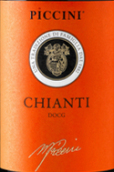 比奇尼基安帝干红葡萄酒(Piccini Chianti DOCG, Tuscany, Italy)