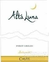 凯味特阿尔特卢娜多洛米蒂灰皮诺干白葡萄酒(Cavit Alta Luna Pinot Grigio Vigneti Delle Dolomiti,Trentino...)